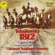 TCHAIKOVSKY / ERICH / CINCINNATI SYM ORCH  KUNZEL - 1812 OVERTURE VINYL