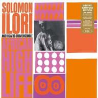 SOLOMON LLORI &  HIS AFRO-DRUM ENSEMBLE -DRUM ENSEMBLE - AFRICAN HIGH VINYL