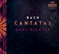 J.S. BACH /  RICHTER / MUNCHENER BACH-CHOR -CHOR - CANTATAS BLURAY