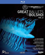 GREAT BALLETS FROM THE BOLSHOI 2 BLURAY