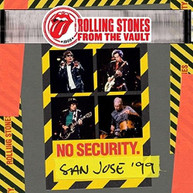 ROLLING STONES - FROM THE VAULT: NO SECURITY - SAN JOSE 1999 BLURAY