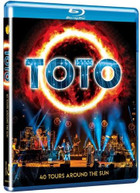 TOTO - 40 TOURS AROUND THE SUN BLURAY