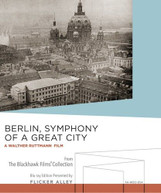 BERLIN SYMPHONY OF A GREAT CITY BLURAY