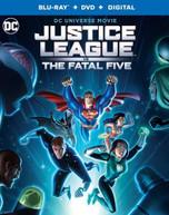 JUSTICE LEAGUE VS FATAL FIVE BLURAY