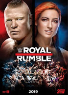 WWE: ROYAL RUMBLE 2019 DVD
