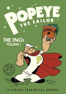 POPEYE THE SAILOR: 1940S - VOL 1 DVD