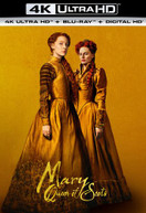 MARY QUEEN OF SCOTS 4K BLURAY