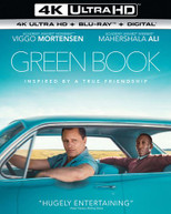 GREEN BOOK 4K BLURAY