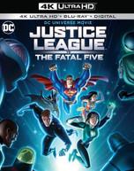 JUSTICE LEAGUE VS FATAL FIVE 4K BLURAY
