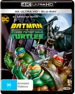 BATMAN VS TEENAGE MUTANT NINJA TURTLES (DC ANIMATED MOVIE) (4K [BLURAY]