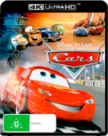 CARS (4K UHD) (2006)  [BLURAY]