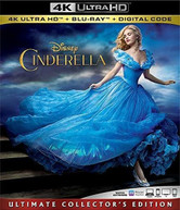CINDERELLA LIVE ACTION 4K BLURAY