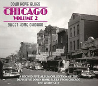 DOWN HOME BLUES: CHICAGO 2 - SWEET HOME / VARIOUS CD
