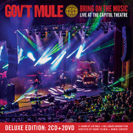 GOV'T MULE - BRING ON THE MUSIC - LIVE AT THE CAPITOL THEATRE (LTD) CD