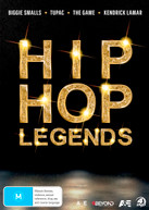 HIP HOP LEGENDS (BIGGIE / TUPAC / THE GAME / KENDRICK LAMAR) (2016)  [DVD]