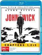 JOHN WICK / JOHN WICK: CHAPTER 2 / JOHN WICK: CHAPTER 3 - PARABELLUM [BLURAY]