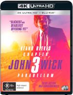 JOHN WICK: CHAPTER 3 - PARABELLUM (4K UHD/BLU-RAY) (2019)  [BLURAY]