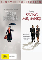 MARY POPPINS (50TH ANNIVERSARY EDITION) / SAVING MR BANKS (2-MOVIE [DVD]