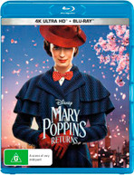 MARY POPPINS RETURNS (4K UHD/BLU-RAY) (2018)  [BLURAY]