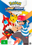 POKEMON: THE SERIES - SUN & MOON: ULTRA ADVENTURES - COLLECTION 2 (2018)  [DVD]