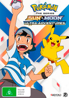 POKEMON: THE SERIES - SUN & MOON: ULTRA ADVENTURES (2018)  [DVD]