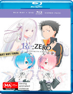 RE: ZERO - STARTING LIFE IN ANOTHER WORLD: SEASON 1 - PART 1 (2016)  [BLURAY]