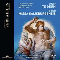 TE DEUM / MISSA SALISBURGENSIS DVD