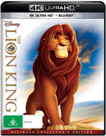 THE LION KING (ULTIMATE COLLECTOR'S EDITION) (4K UHD/BLU-RAY) (1994)  [BLURAY]