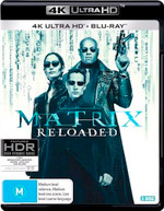 THE MATRIX RELOADED (4K UHD/BLU-RAY) (2003)  [BLURAY]