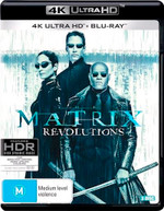 THE MATRIX REVOLUTIONS (4K UHD/BLU-RAY) (2003)  [BLURAY]