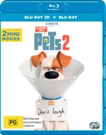 THE SECRET LIFE OF PETS 2 (3D BLU-RAY/BLU-RAY) (2019)  [BLURAY]