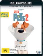 THE SECRET LIFE OF PETS 2 (4K UHD/BLU-RAY) (2019)  [BLURAY]