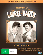 THE VERY BEST OF STAN LAUREL & OLIVER HARDY: 5 FILM COLLECTION [BLURAY]