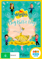 THE WIGGLES WITH THE AUSTRALIAN BALLET: BIG BALLET DAY! (2018)  [DVD]
