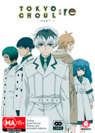 TOKYO GHOUL: RE - PART 1 (EPISODES 1-12) (2017)  [DVD]