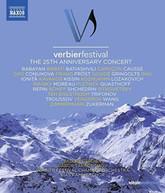 VERBIER FESTIVAL 25TH BLURAY