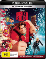 WRECK-IT RALPH (ULTIMATE COLLECTOR'S EDITION) (4K UHD/BLU-RAY) (2012)  [BLURAY]