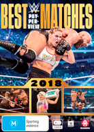 WWE: BEST PAY-PER-VIEW MATCHES 2018 (2018)  [DVD]