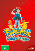 POKEMON INDIGO LEAGUE SEASON 1 (1998)  [DVD]