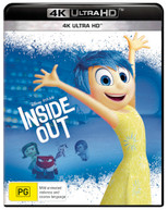 INSIDE OUT (4K UHD) (2015)  [BLURAY]