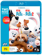 THE SECRET LIFE OF PETS / THE SECRET LIFE OF PETS 2 (2 MOVIE [BLURAY]