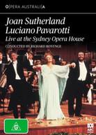 JOAN SUTHERLAND, LUCIANO PAVAROTTI - LIVE AT THE SYDNEY OPERA HOUSE * DVD