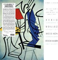 BERIO /  BOULEZ / MESSIAEN / STOCKHAUSEN - SERENATA I / SONATINE / VINYL