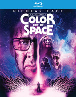 COLOR OUT OF SPACE BLURAY