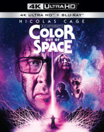 COLOR OUT OF SPACE 4K BLURAY