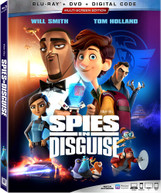 SPIES IN DISGUISE BLURAY