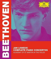 BEETHOVEN / JAN / ACADEMY OF ST MARTIN  LISIECKI - COMPLETE PIANO BLURAY