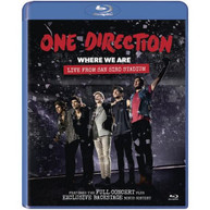 ONE DIRECTION � WHERE WE ARE BLU-RAY [UK] BLURAY