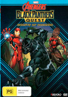 AVENGERS ASSEMBLE: BLACK PANTHER'S QUEST - GHOSTS OF WAKANDA (2018)  [DVD]