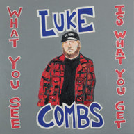 LUKE COMBS - WHAT YOU SEE IS WHAT YOU GET CD